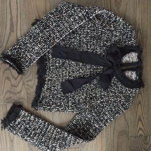 Zara cropped sweater, size S